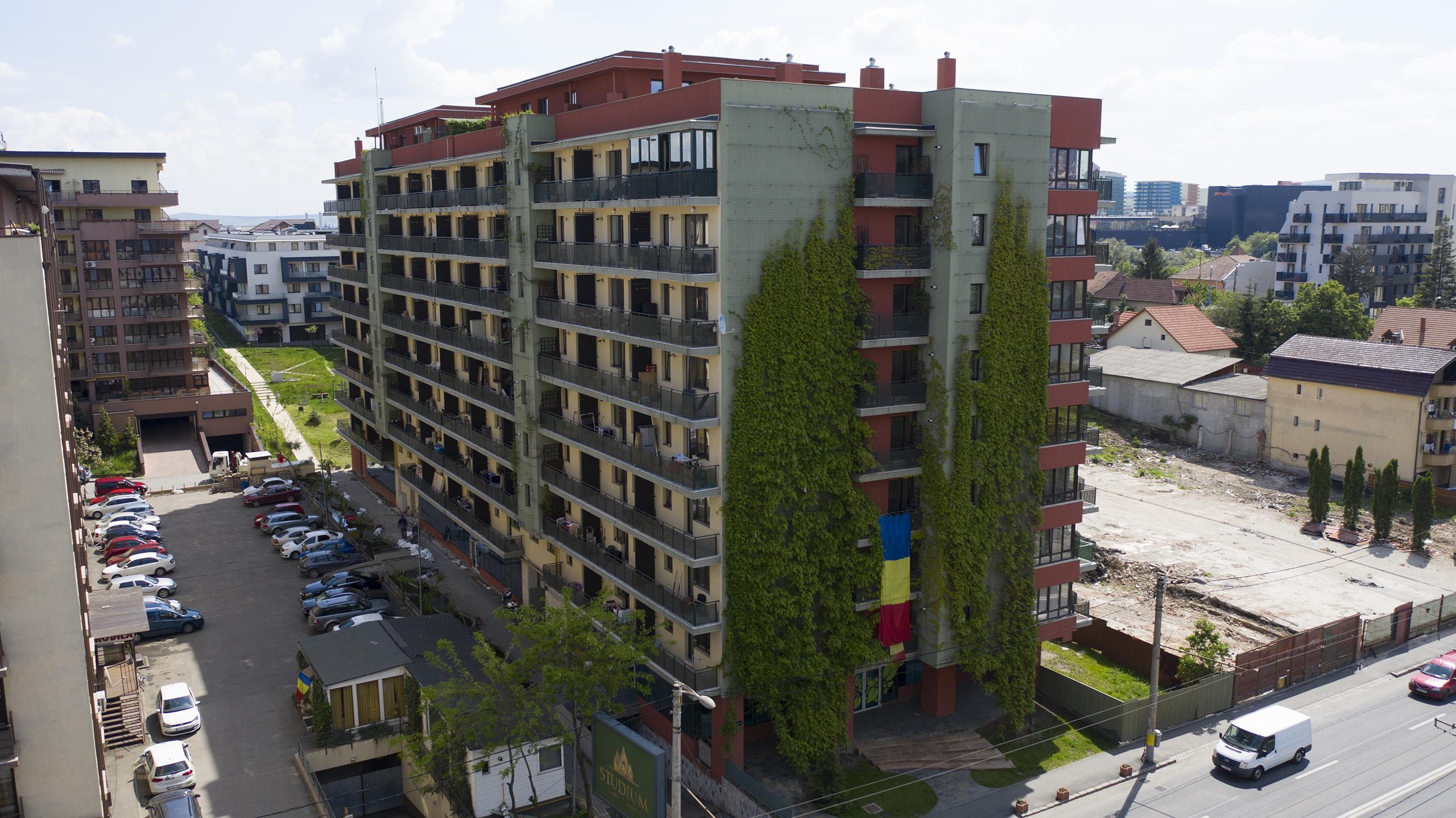 Proiectele imobiliare ale Studium Green sau cum au apărut terasele verzi ale Clujului