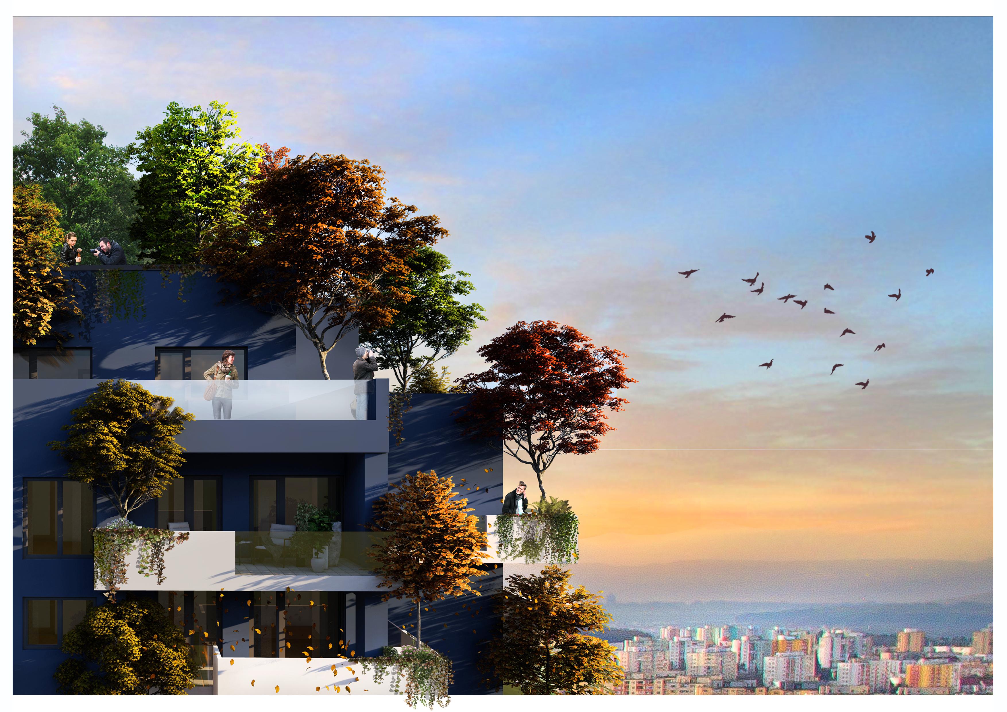 Apartament la bloc sau casă la pădure? Pentru amândouă la un loc, întrebați la Studium Green!