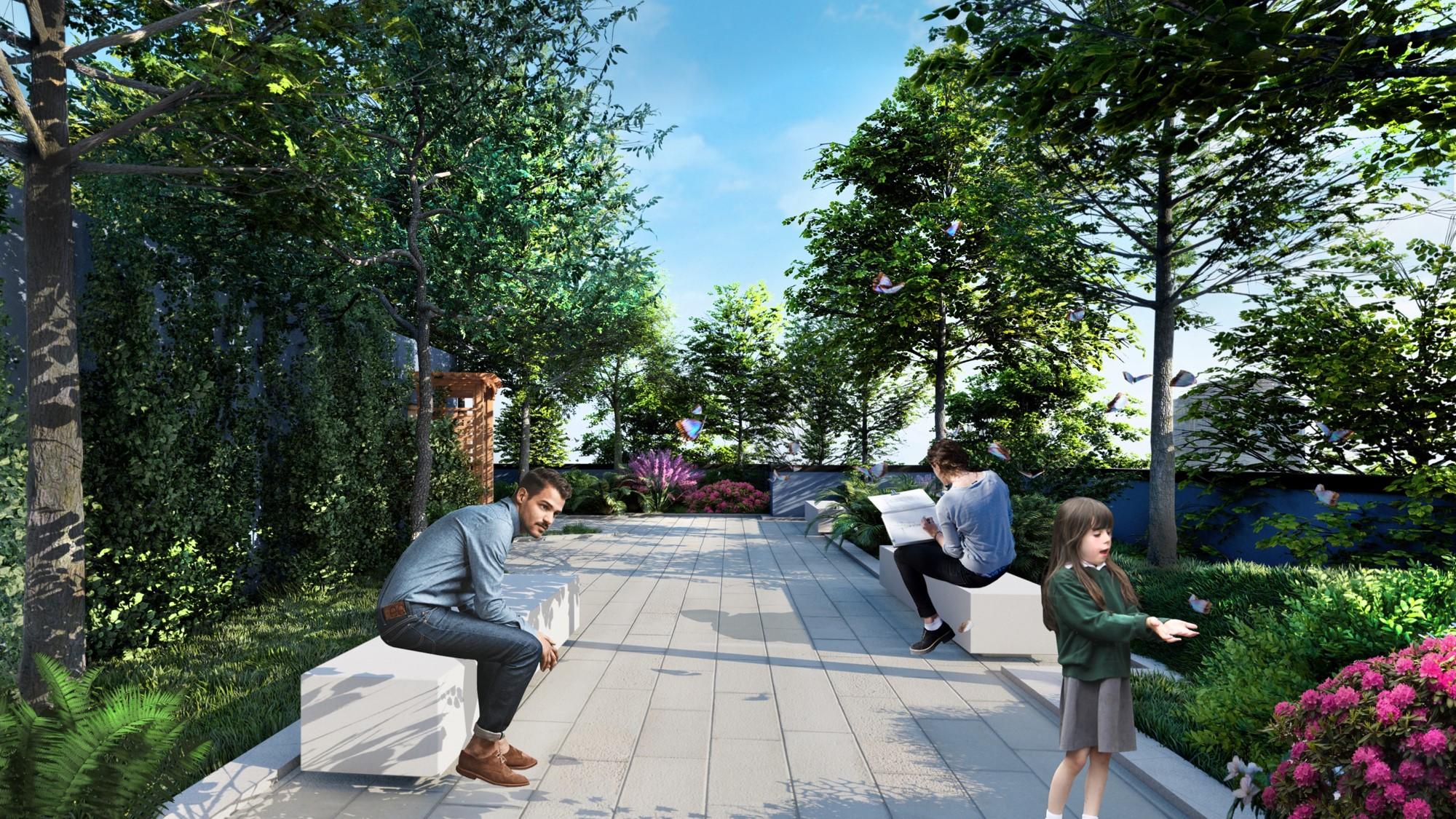 Pădurea de acasă! Un nou proiect imobiliar spectaculos la Cluj-Napoca