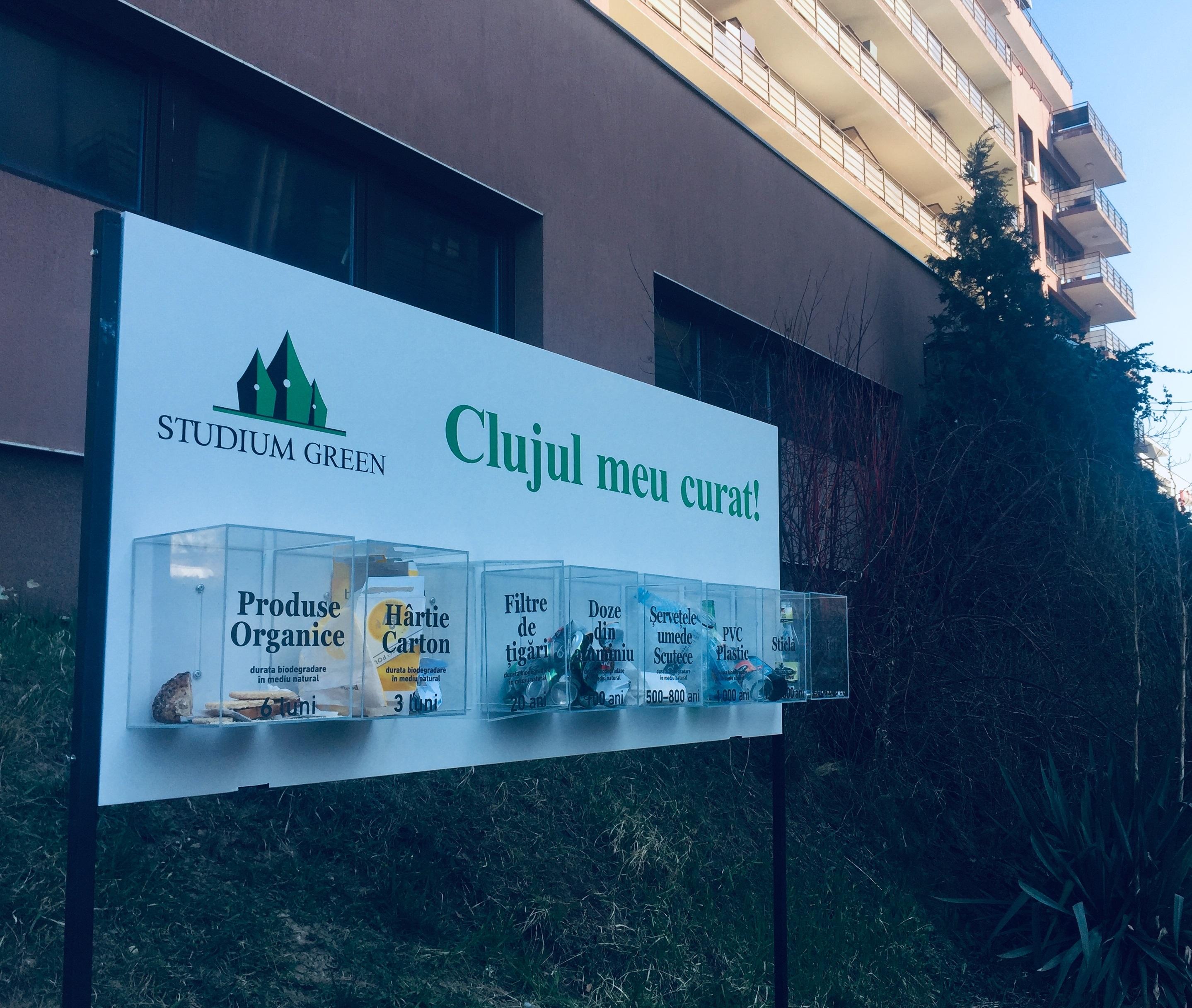 """Cum se poate face """"Clujul meu curat!"""" Studium Green pune la bătaie resurse pentru a oferi soluții"""