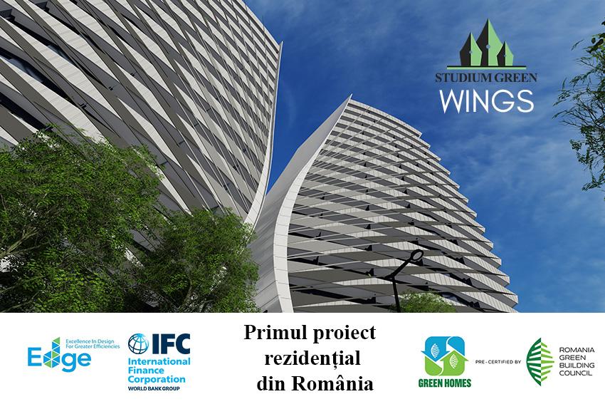 Wings- primul proiect rezidential precertificat EDGE din Romania